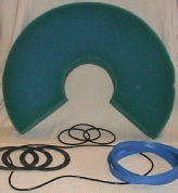 Demister, Drum Seal, Bearings, O-rings